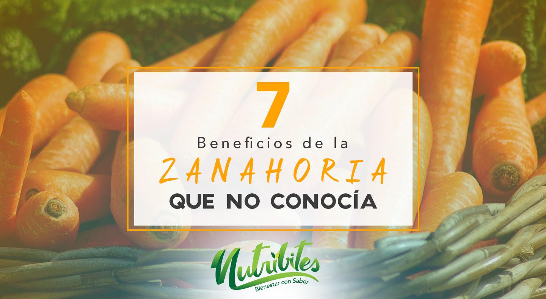 7 beneficios de la Zanahoria que no conocías